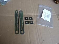 NOS PAIR OF SEAT BELT ANCHORAGES LAP BELT TO STEEL FRAME KITCAR HOTROD PROJECT