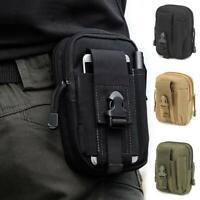 Men's Holster Tactical Molle Waist Belt Bag Wallet Cell Phone Pouch Case Utility