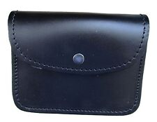 Bag Music Card Pouch Leather Black Will Slide Over 57mm Wide Belt R1664