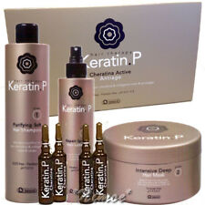Keratin.P Biacrè ® Kit4: 10 vials x 10ml + Shampoo + Mask + Repair Spray Lotion