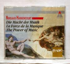 NIKOLAUS HARNONCOURT Die Macht der Musik TELDEC CD NM