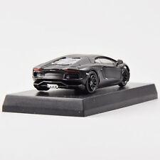 1/64 Black Kyosho Model Toy Car Lamborghini Aventador LP 700-4 Diecast Gift