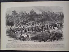 Battle Of The Wilderness Virginia Civil War Frank Leslie's Print