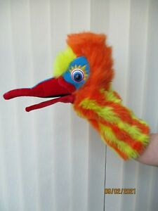 PUPPET COMPANY - Chuckle Exotic Bird (Snappers Hand Puppet) - LONG SLEEVE
