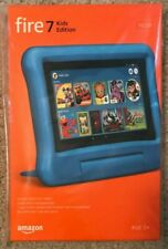 NEW AMAZON FIRE 7 KIDS EDITION TABLET 16GB 2019 (9TH GENERATION) BLUE ALEXA 7IN