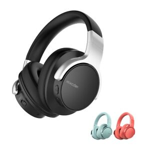 Mixcder E7 Active Noise Cancelling Bluetooth Headphones Over Ear Headsets with M