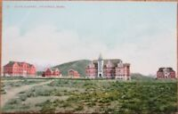 Pocatello, ID 1910 Postcard: State Academy Buildings - Idaho
