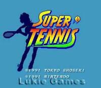 SUPER TENNIS - SNES Super Nintendo Game