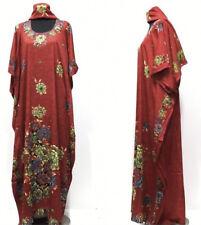 Femme Robe Caftan Marocain Abaya Dubai Long Arabe Farasha, SIZES-M L, XXL