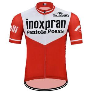 inoxpran Cycling Jersey mens Cycling Short Sleeve Jersey