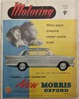 "Nuffield House Magazine, ""Motoring"", April 1959 - Morris Oxford Series V"
