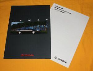 Toyota Camry 1994 Prospekt Brochure Catalog Depliant Prospetto Prospecto