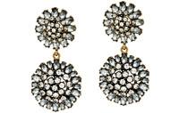 BaubleBar Crystal Dandelion Drop Earrings QVC Sold Out