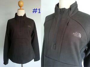 6963 NWT The North Face Jordina 1/4 Zip Sweatshirt Soft Fleece Jacket Women S M