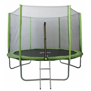 North Gear 10' Trampoline Set with Safety Enclosure and Ladder