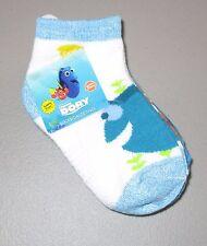DISNEY FINDING NEMO~Kids 3-5T~NWT 3 Pair Unisex Finding Dory Quarter Socks