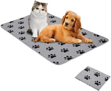 SPXTEX Dog Crate Pads Dog Pee Pads Rugs Washable Dog Pads, Non Slip Puppy Pee Pa