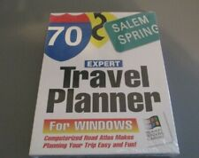 Expert Travel Planner for Windows 3.0 or 3.1 Vintage Computerized Road Atlas NEW