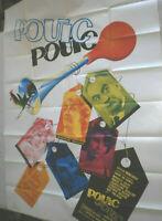 XLFilmplakat,Plakat,POUIC POUIC,ROGER DEBELMAS,LOUIE DE FUNES,M DARC #195