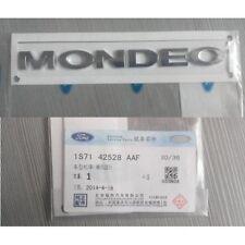 Car Chrome Badge Emblem Genuine OEM MONDEO fits Ford Mk3 2000-2007 Mk4 2007-2012