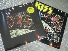 "KISS   ""MTV Unplugged"" SEALED LP  Mercury ‎– 314 528 950-1 w/Promo Poster Flat"