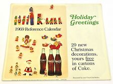 Schöner alter Coca-Cola Kalender 1969 USA Coke Calendar