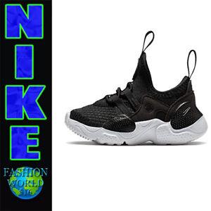 Nike Toddler Size 8C Huarache E.D.G.E. TXT BT Shoes CK4983-001 Black/White