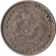 ND (1890-1908) China - Kwangtung 10 Cents Silver Coin Y#200