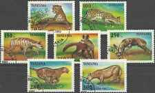 Timbres Animaux Tanzanie 1913/9 o lot 17825