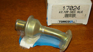 TOMCO 17024 AIR PUMP CHECK VALVE NOS