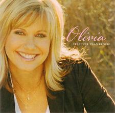 OLIVIA NEWTON-JOHN - Stronger Than Before (CD 2005)