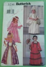 Butterick 3236 Girls size 6 7 8 Princess Costume Sewing Pattern Halloween Cut