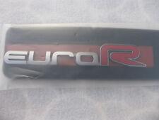 Honda Euro-R Rear Emblem  Accord , Acura TSX CL9 Genuine JDM