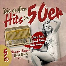 Die Großen Hits Der 50er - Diverse Interpreten (5CDs) Neu