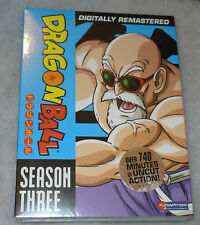 DRAGON BALL Temporada 3 TRES DRAGON BALL DVD Box Set - Nuevo y sin abrir