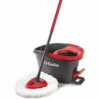 O-Cedar Easy Wring Spin Mop and Bucket System Frustration-Free Packaging