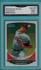 2013 13 LUCAS GIOLITO BOWMAN CHROME ROOKIE #BCP5 GEM MT 10