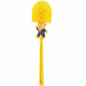 Donald Trump Toilet Bowl Brush Makes Perfect White Elephant Gag Political Gift