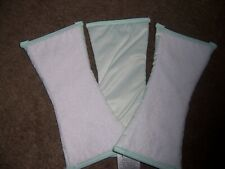 Priva cloth diaper doublers waterproof new