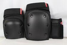 New Set Destroyer G/Series Youth Pack Skate Pad Set Black Knee/Elbow/Wrist