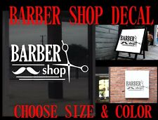 C20 Barber Shop Business Sign Vinyl Graphic Decal Sticker Window Diy Free Ship