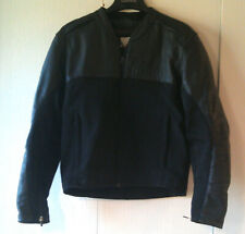 Icon Accelerant Stealth Black Leather Motorcycle Jacket Size M
