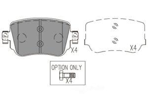 Disc Brake Pad Set-Premium Ceramic Pads Rear Dash 4 Brake CFD1779