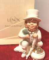 LENOX Irish LEPRECHAUN FIGURINE Lucky Shamrock Gold St Patrick's Day 829437 NEW