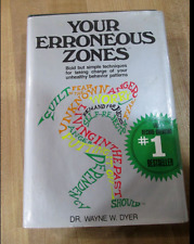 Your Erroneous Zones by Dr Wayne W Dyer Hardcover book FREE SHIPPING