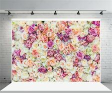 Rose Flowers 7x5ft Photography Background Wedding Birthday Party Photo Backdrops