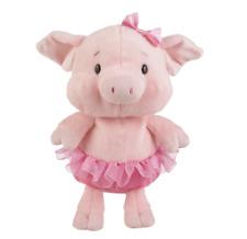 "L@@K Ganz Portia Ballerina Piggy Pig 8.5"" H14171 Stuffed Animal Ships Global NEW"