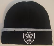 1e3f865949d Oakland Raiders Beanie fleece onfield men onesize hat black winter nfl  authentic