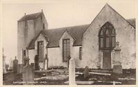 CANISBAY – Canisbay Church Yard Real Photo Postcard rppc – Scotland
