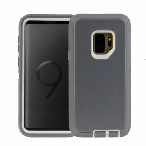 For Samsung Galaxy S9/S9+Plus Shockproof Protective Hard Case Cover w/ Belt Clip